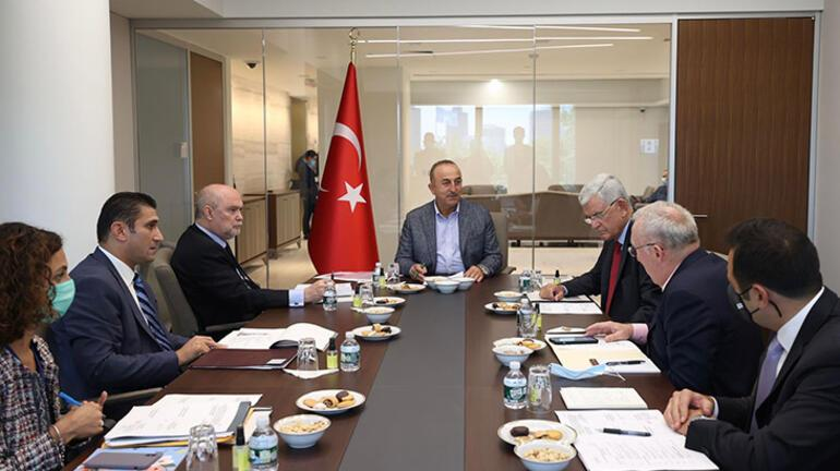 Bakan Çavuşoğlu'dan New York'ta resmi temaslar