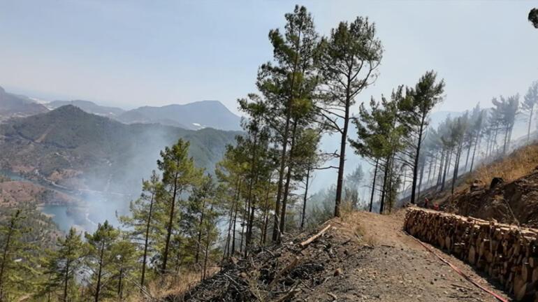 Anamurdaki orman yangını kontrol altına alındı