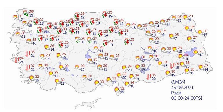 Son dakika Meteoroloji uyarmıştı: İstanbulda beklenen yağış başladı