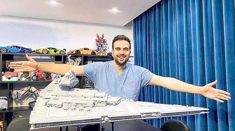 O bir beyin cerrahı YouTube fenomeni ve çılgın Lego'cu
