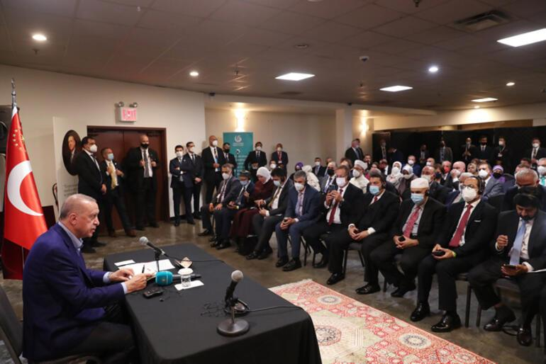 Erdoğan Müslüman toplumunun temsilcilerini kabul etti