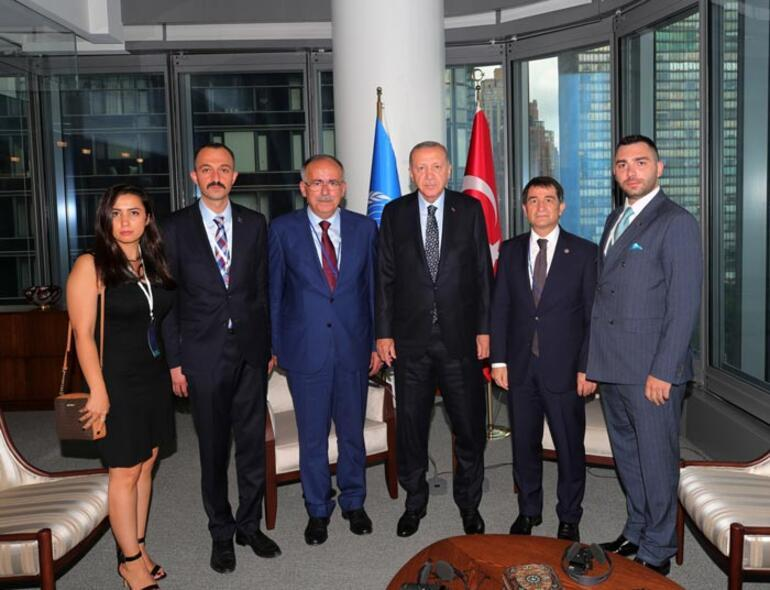 Son dakika Cumhurbaşkanı Erdoğandan ABDde peş peşe kritik görüşmeler