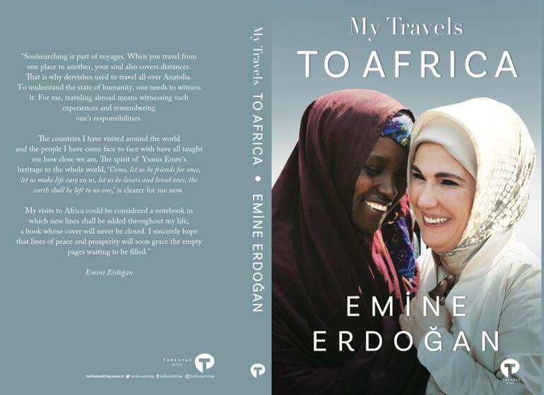 Emine Erdoğan Afrika Seyahatlerim adlı ilk kitabının tanıtımını New York'ta yaptı