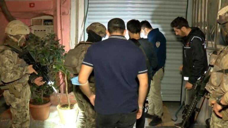 Beyoğlunda uyuşturucu operasyonu: Çok sayıda gözaltı var
