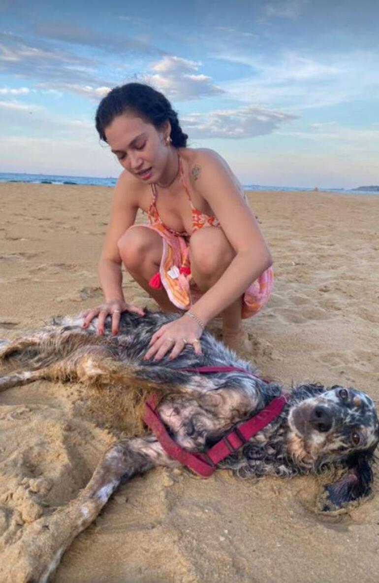Melisa Şenolsun plaj pozuyla beğeni topladı