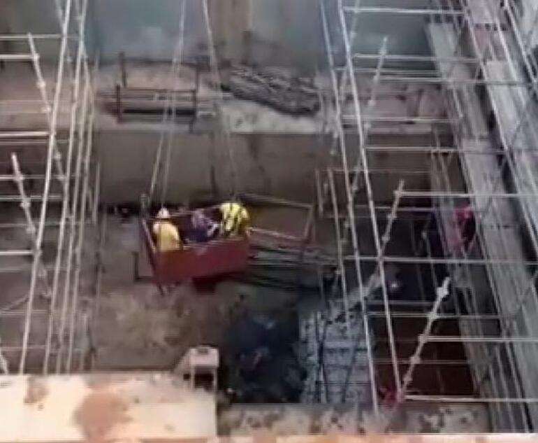 Yardıma geldi, elektrik çarptı Tuzlada kurtarma seferberliği