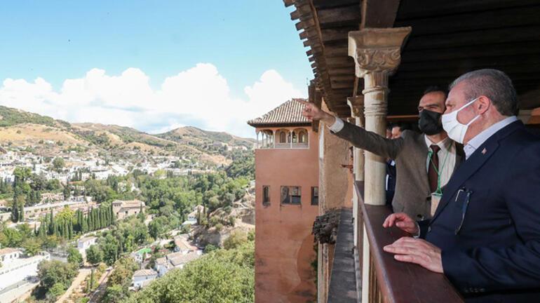 TBMM Başkanı Şentop Granada Ulu Camiini ziyaret etti
