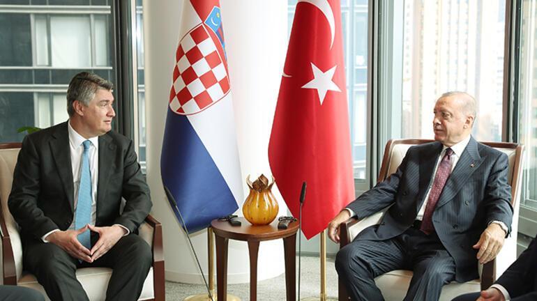 Cumhurbaşkanı Erdoğandan New Yorkta peş peşe kritik temaslar