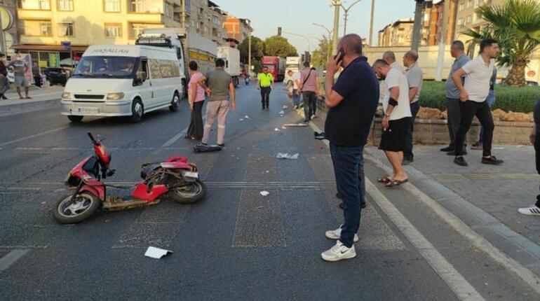 Bisiklet sürücüsüne çarpıp kaçan ehliyetsiz sürücü böyle yakalandı