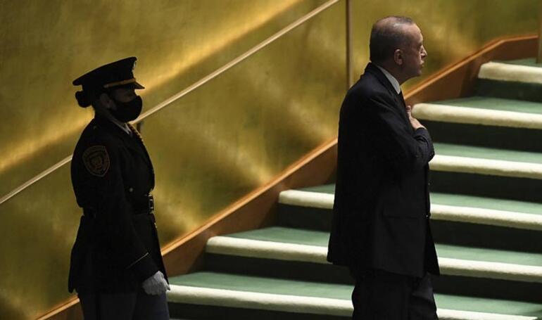 Son dakika: BM 76. Genel Kurulu Erdoğandan dünyaya önemli mesajlar
