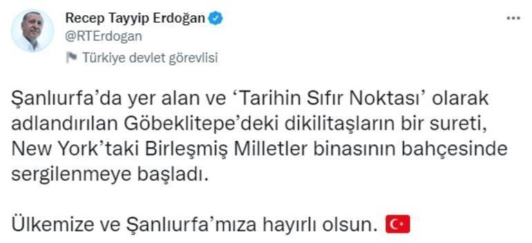 Son dakika... Türkiye'den New York'a götürüldü, Erdoğan paylaştı: Tarihin sıfır noktası