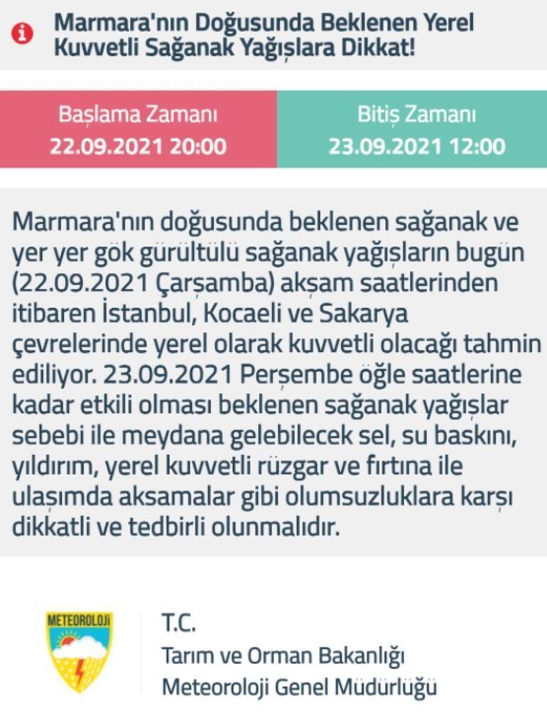 Son dakika... Peş peşe sağanak yağış uyarıları Soğuk hava Türkiyeyi etkisi altına alacak