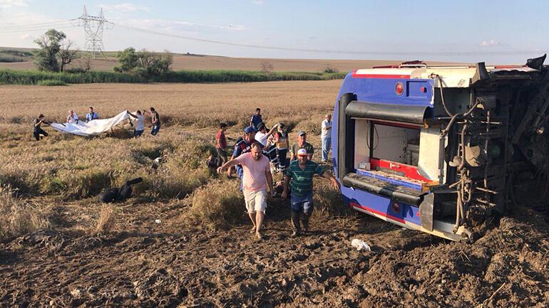 Çorludaki tren kazasında yaralanan 3 yolcuya 1,5 milyon TL tazminat