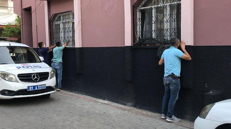 Adanada dehşet evi Polis baltayla kırıp içeriye girdi
