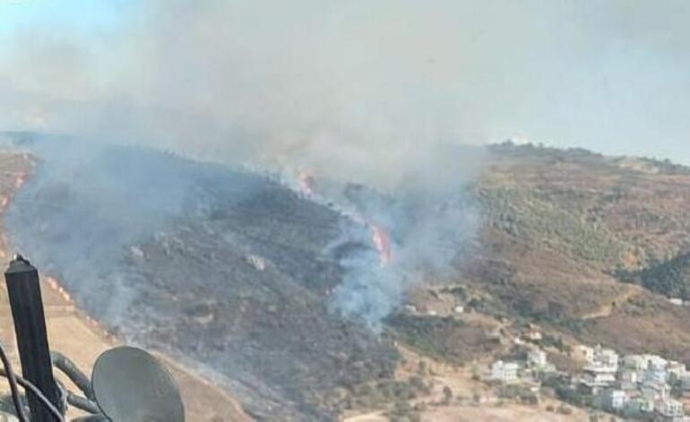 Son dakika... İzmirde orman yangını
