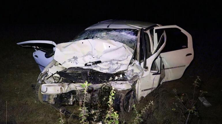 Karabükte trafik kazası 2 can kaybı ve 6 yaralı var