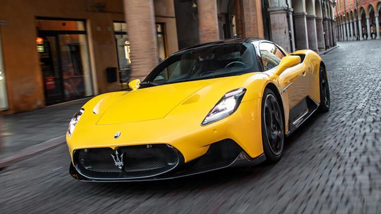 Maserati MC20'ye tasarım ödülü