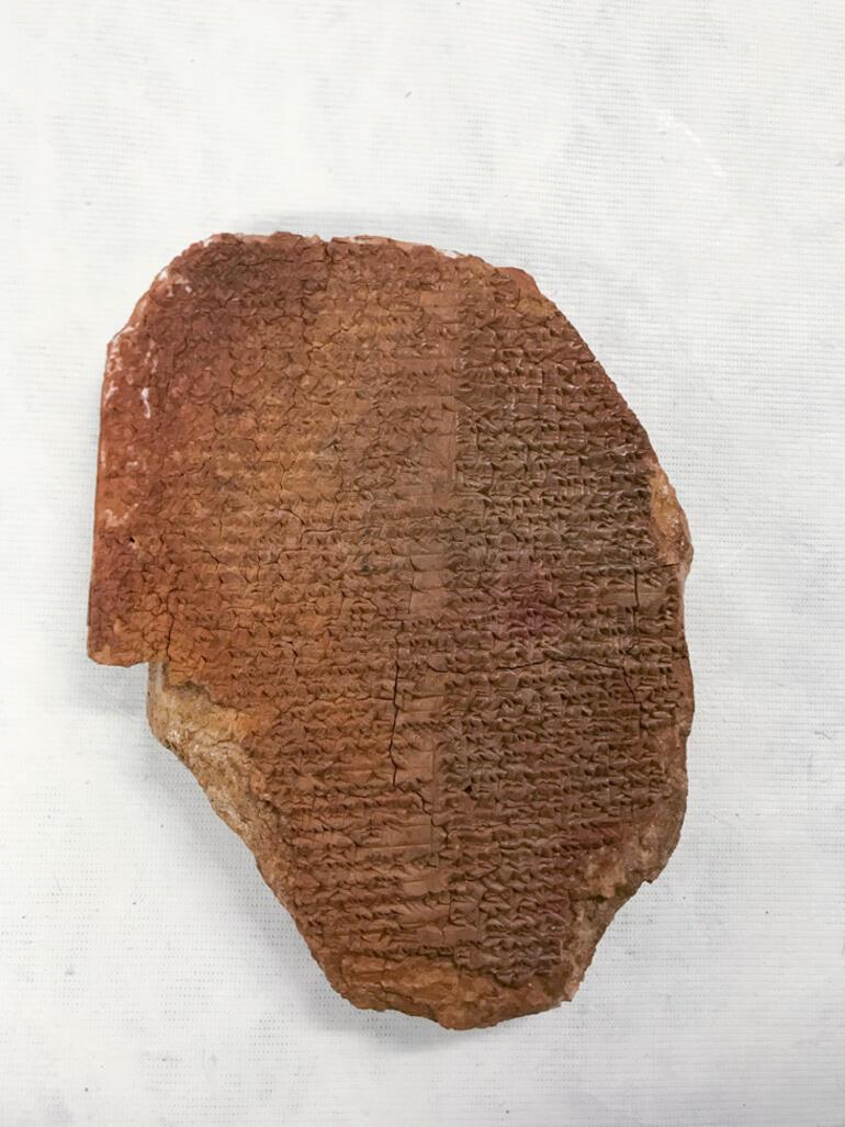 Tarihi an ABD, 3500 yıllık Gılgamış Rüya Tabletini iade ediyor