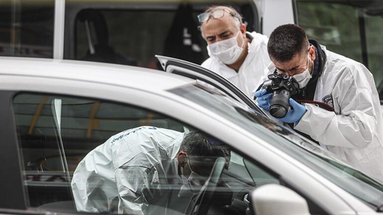 Ankarada bir kişiye aracında silahlı saldırı