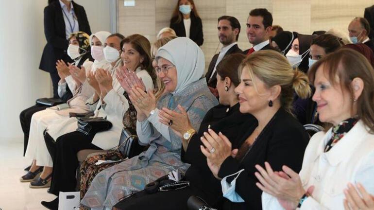 Emine Erdoğandan kadınlara sürdürülebilir dünya inşa edelim  çağrısı