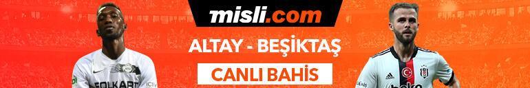 Altay - Beşiktaş maçı Tek Maç ve Canlı Bahis seçenekleriyle Misli.com'da