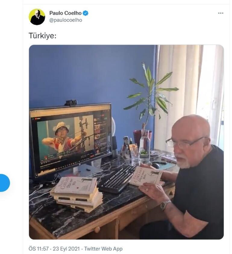 Paulo Coelho, Okçunun Yolunu Mete Gazoza adadı