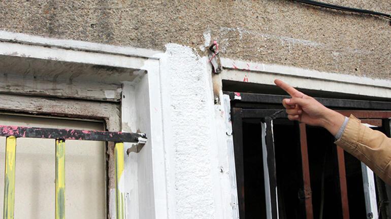 Şişlide tedirgin eden görüntü Ölü kediyi boyayıp pencereye astı