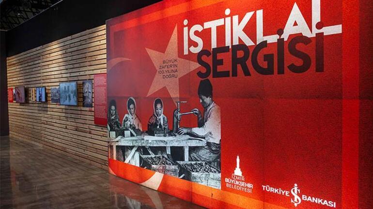 """""""İstiklal"""" sergisi İzmir'de"""