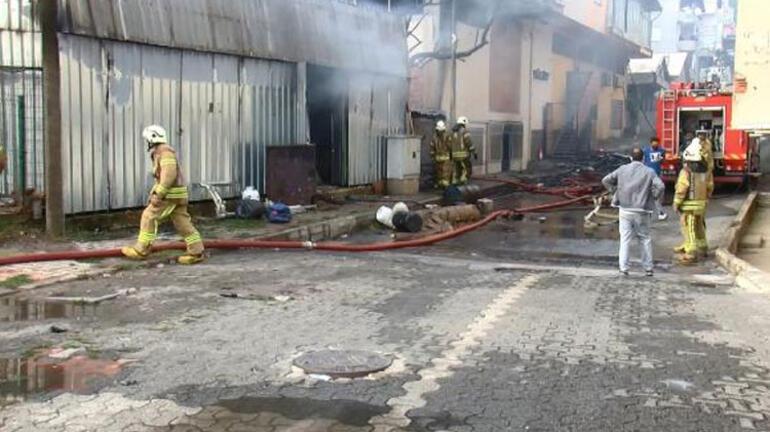 Son dakika... Sultanbeylide fabrika yangını
