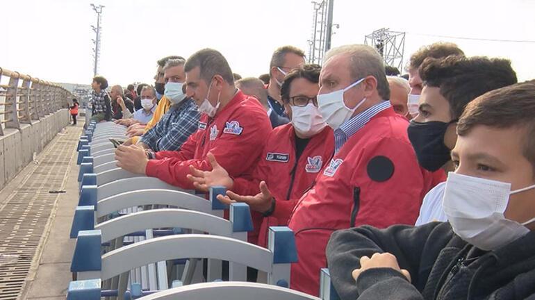 TBMM Başkanı Şentop, TEKNOFESTi ziyaret etti: Kısa zamanda büyük mesafeler alındı