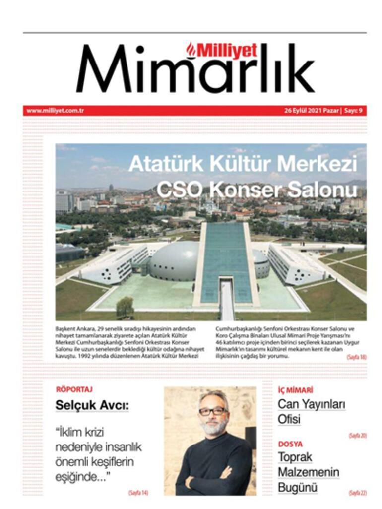 Milliyet Mimarlık dergisi sektöre farklı bir bakış açısı sunuyor