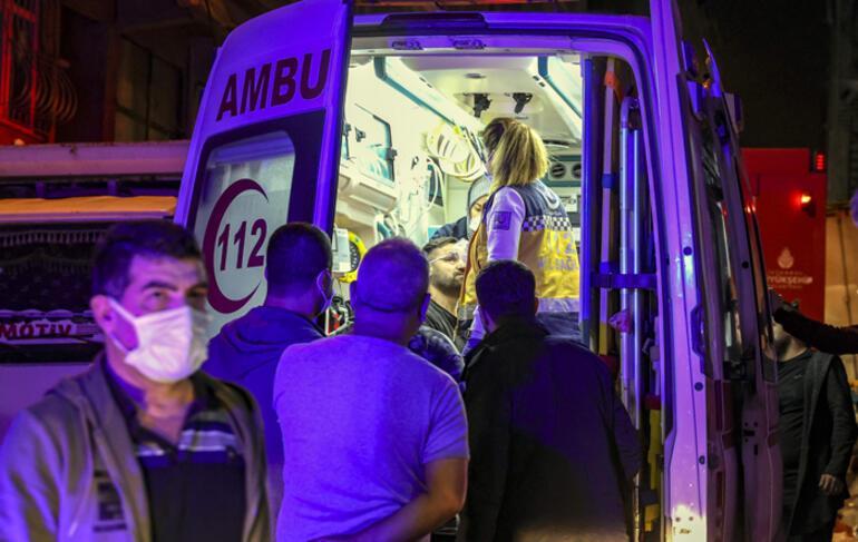 Sultangazide çıkan yangında 11 kişi dumandan etkilendi