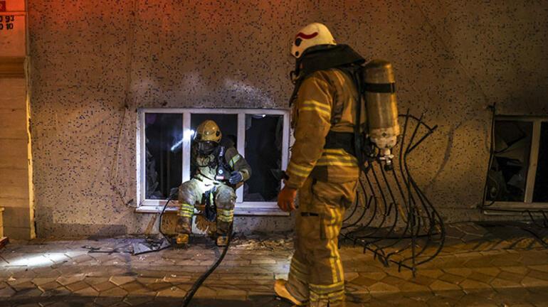 Sultangazide 5 katlı binada yangın paniği: 11 kişi dumandan etkilendi