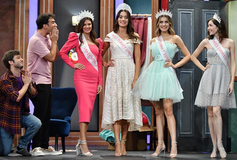 Azra Akın ve 2021 Miss Turkey Güzelleri, Çok Güzel Hareketler 2 ye konuk oluyor