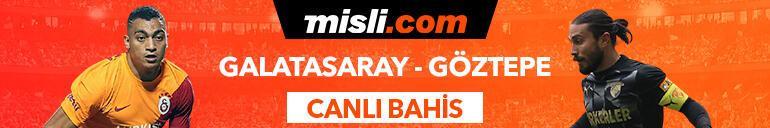 Galatasaray-Göztepe maçı Tek Maç ve Canlı Bahis seçenekleriyle Misli.com'da