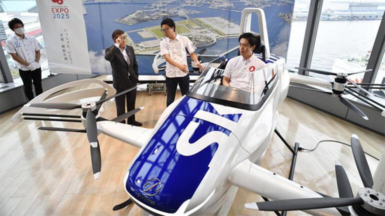 Japon SkyDrive, uçan taksi ile yolcu taşıyacak
