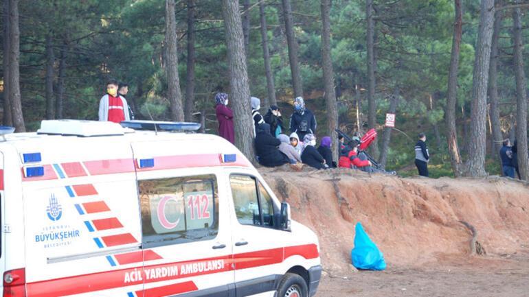 Aydos Göletinde kaybolan kişiyi arama çalışmaları yeniden başladı