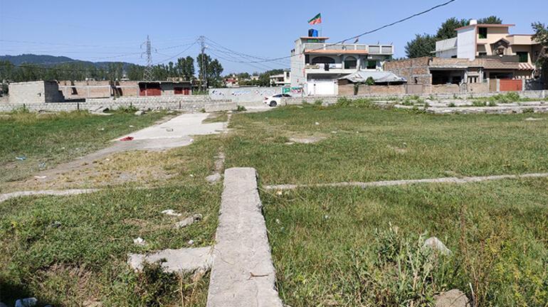 Bin Ladinin öldürüldüğü ev atıl bir alana dönüştü