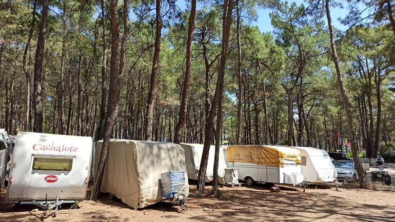 Pandemi döneminde kiralık karavan tatili