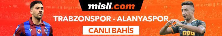Trabzonspor - Alanyaspor maçıTek Maç ve Canlı Bahis seçenekleriyle Misli.com'da
