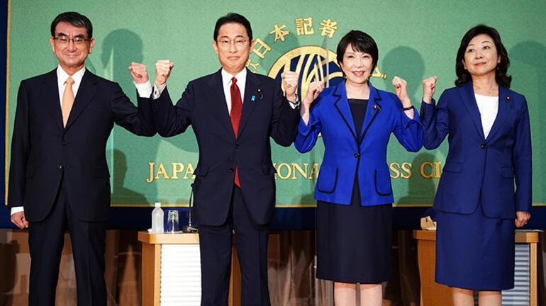 Japonyada iktidar partisinin favorisi Kono görünüyor