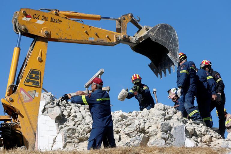 Son dakika haberleri: Yunanistanda 6 büyüklüğünde deprem