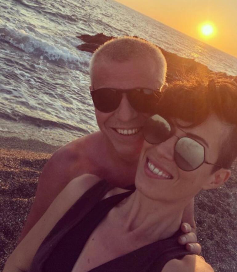Levent Yükselden romantik paylaşım: Güneş ısıtmazsa aşk ısıtır içimizi