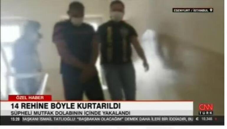 İstanbulda nefes kesen rehine operasyonu