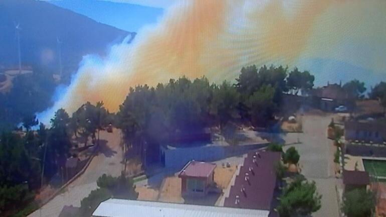 İzmirdeki orman yangını kontrol altına alındı