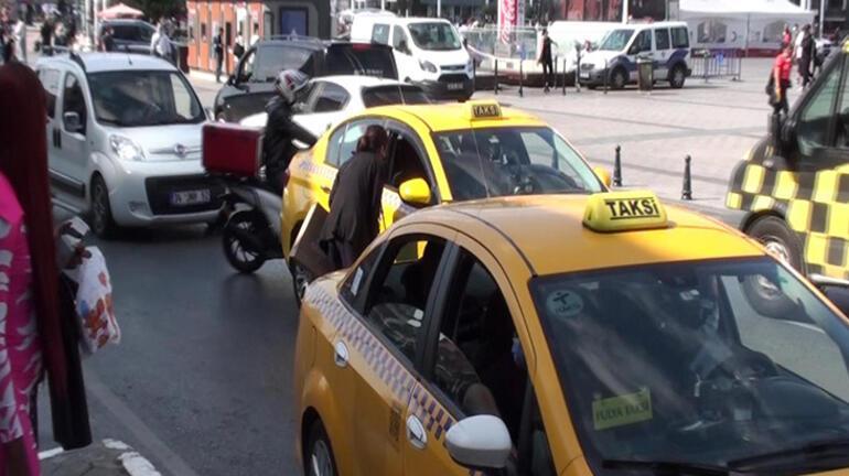 Taksiciden bu kez uzun mesafe bahanesi Ceza kesildi