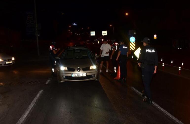 İzmirde bin 200 polis ile huzur ve güven uygulaması