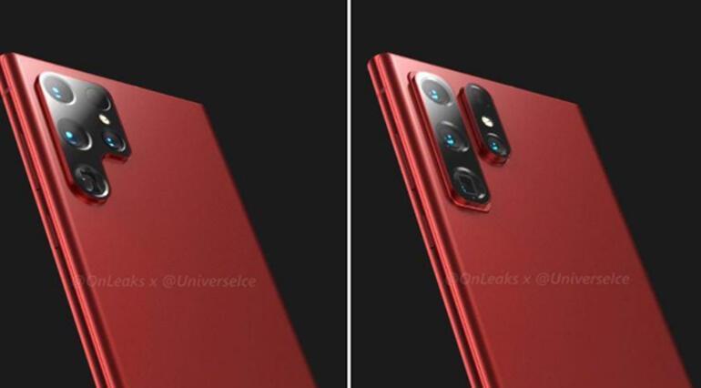 Samsungun yeni telefonu Galaxy S22 Ultra böyle olabilir