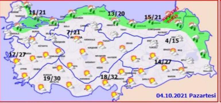 Son dakika Meteorolojiden sağanak yağış uyarısı: 3 gün boyunca etkili olacak