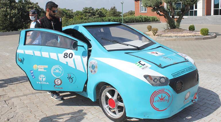 The electric car Börü developed by university students
